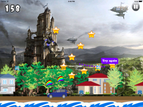 A Jumping Liberator HD Pro - Some With Amazing Warriors Jumps screenshot 9