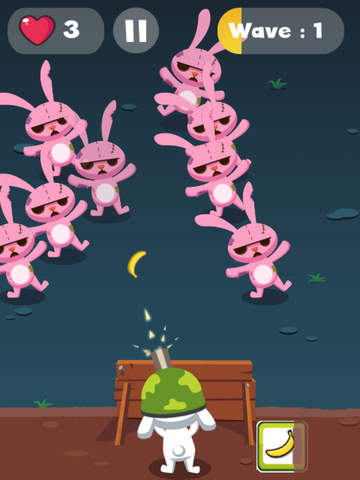 Rabbit Zombie Defense screenshot 9