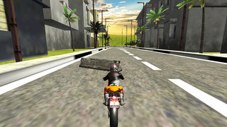 Traffic Highway Rider : Moto Race Free screenshot 5