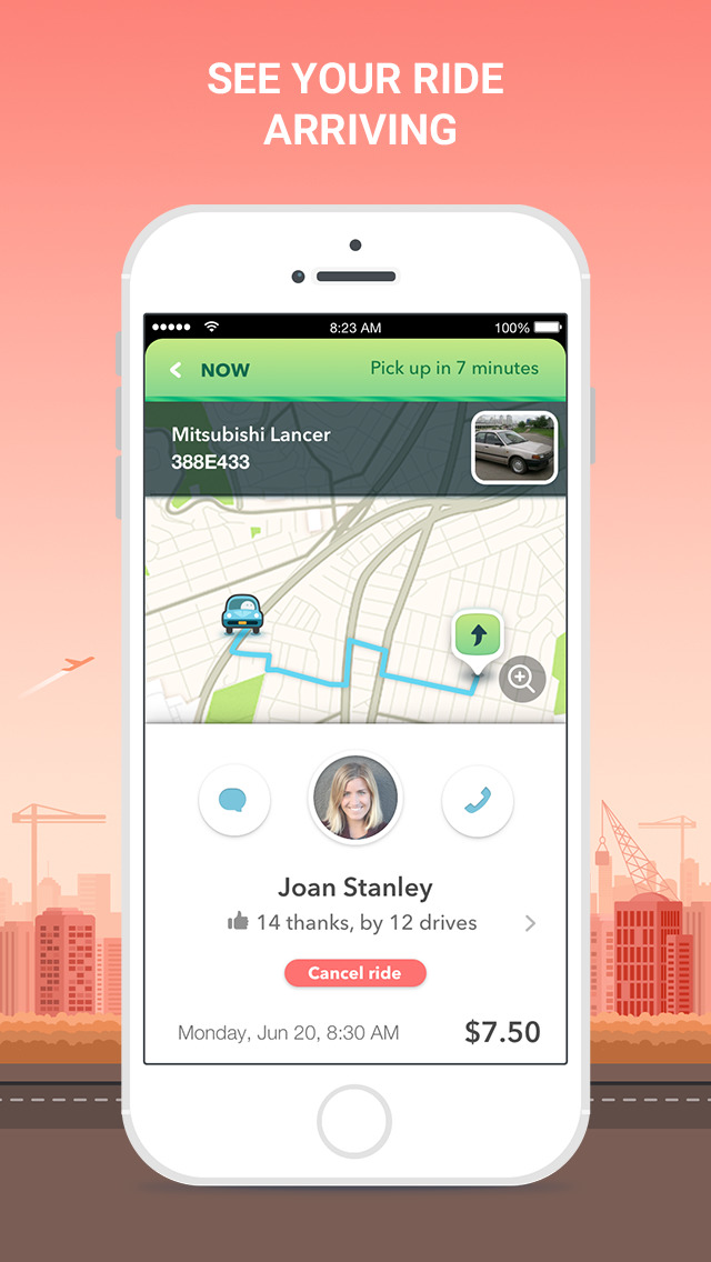 Waze Carpool screenshot 5