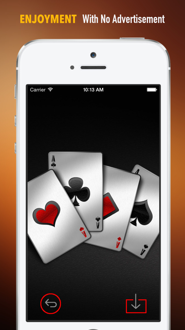 Playing Card Wallpapers HD: Quotes Backgrounds with Art Pictures screenshot 2