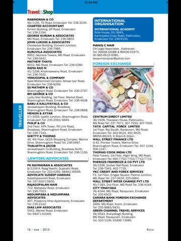 Kochi Travel & Shop Magazine screenshot 9