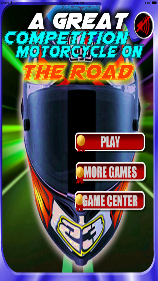 A Great Competition Motorcycle On The Road - Game Crazy And Explosive Motorcycle screenshot 1