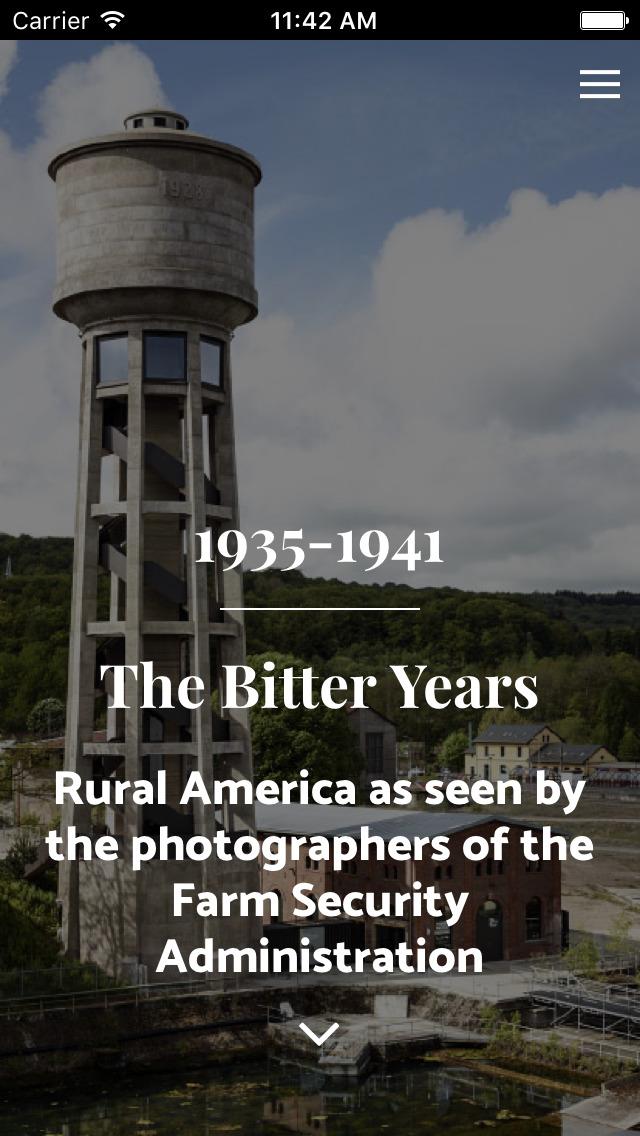 The Bitter Years - CNA Steichen Collections screenshot 1