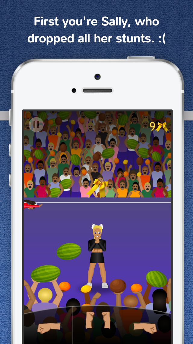 Cheer Fury Cheerleading Game by Cheermoji screenshot 2