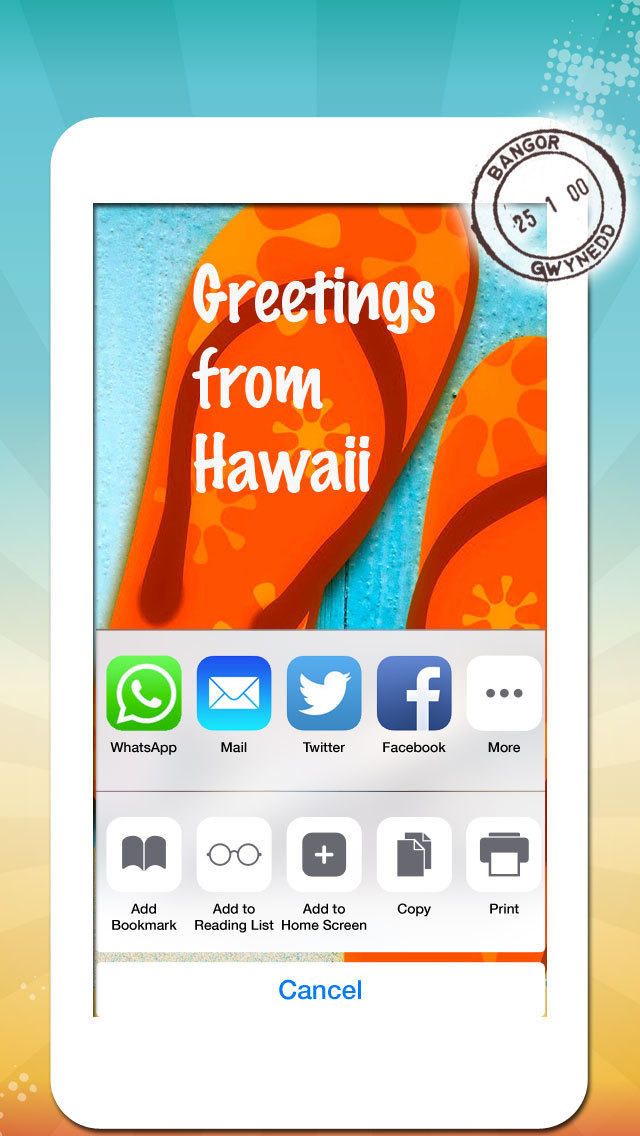 Vacation Greeting Cards - Summer Holiday Greetings, Wallpapers & Messages screenshot 4