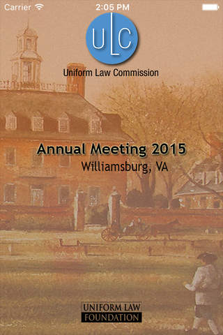 Uniform Law Commission's Annual Meeting - náhled