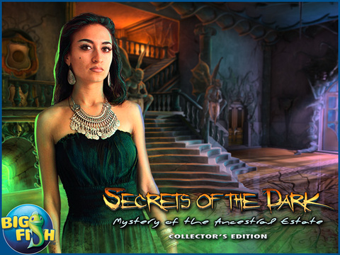 Secrets of the Dark: Mystery of the Ancestral Estate HD - A Mystery Hidden Object Game (Full) screenshot 5