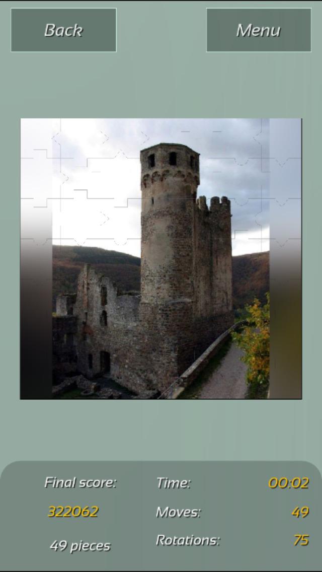 Castles Great Puzzle screenshot 1