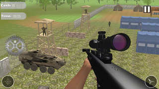 Contract Sniper Killer : American Army Ops Free screenshot 2