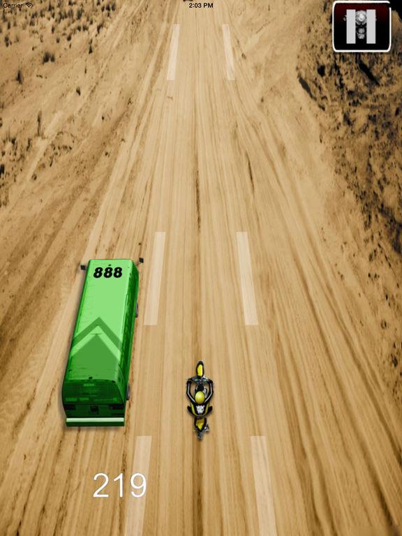 Amazing Desert Motocross - Baron Bike Racing screenshot 7