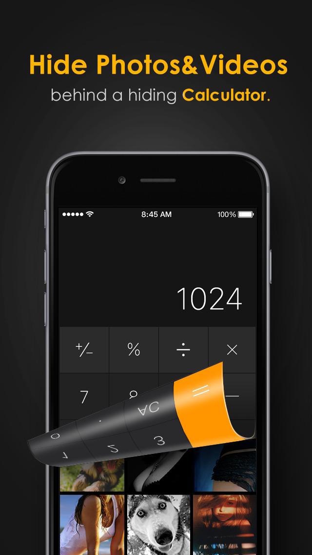 Secret Calculator Photo Album screenshot 1