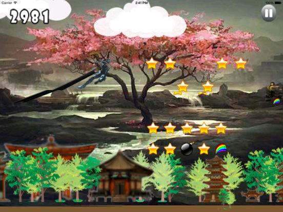 Clan Dark Jumping Pro - Samurai Adventure Game screenshot 9