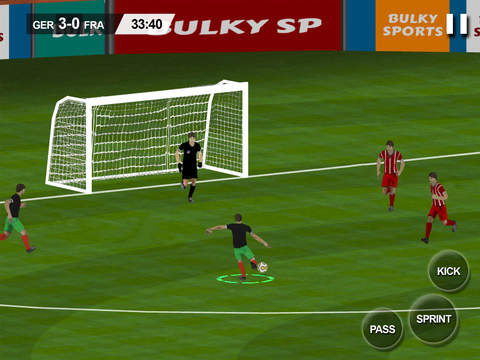 Real Soccer 2016 - Euro 2016 edition ultimate football championships and leagues to win a cup for nation simulation game by Bulky Sports screenshot 7