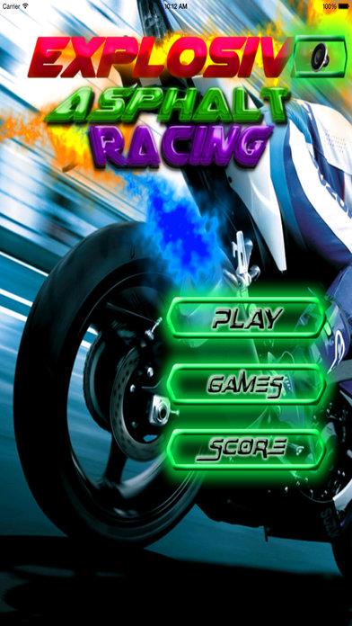 Explosive Asphalt Racing PRO - Best No Limit Speed screenshot 1