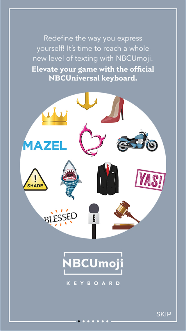 NBCUmoji screenshot 1