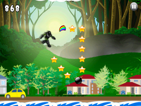Academy Radiation Super Hero Pro - Jump and Fly City War Clash screenshot 8