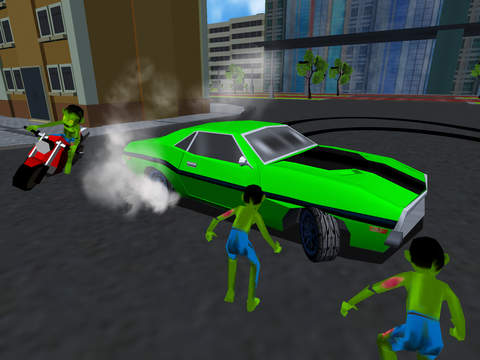 Drift Cars Vs Zombies - Kill eXtreme Undead in this Apocalypse Outbreak Racing Simulator Game FREE screenshot 7