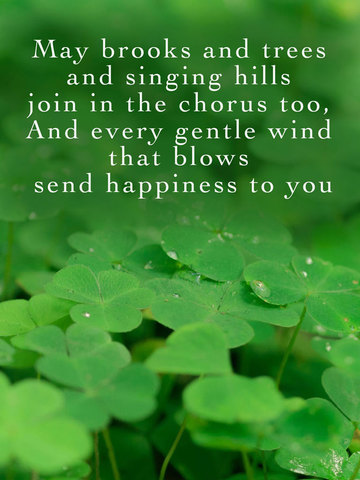 Irish Blessings and Greetings - Image Sayings, Wallpapers & Picture Quotes screenshot 7