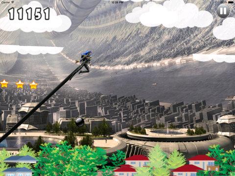A Jumping Independence Girl - A Best Warrior Jump screenshot 7
