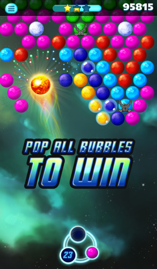 Supernova Bubble Puzzle screenshot 5