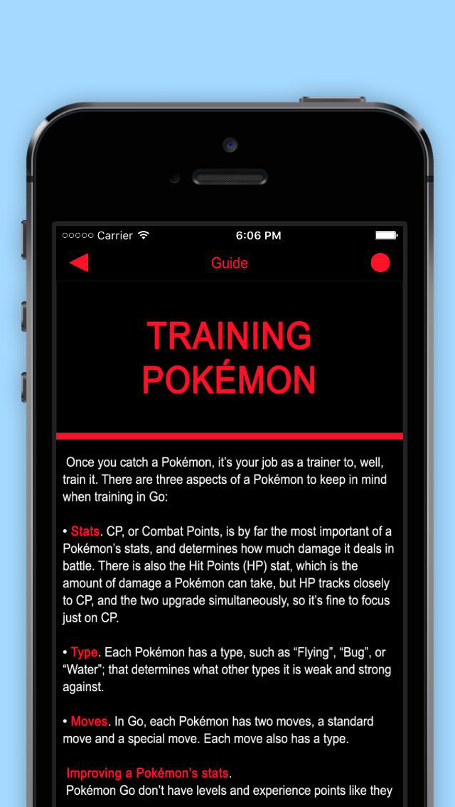 Guide & Tricks for Pokémon GO screenshot 3