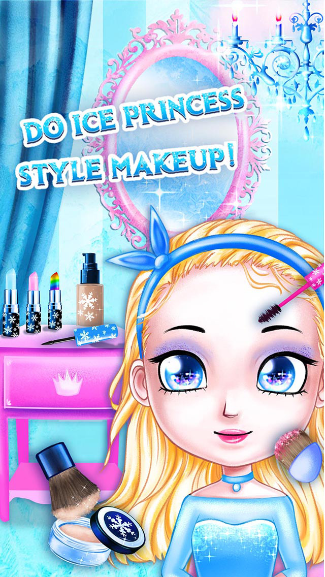 Ice Palace Princess Salon - Hair Care, Makeup & Dress Up screenshot 4