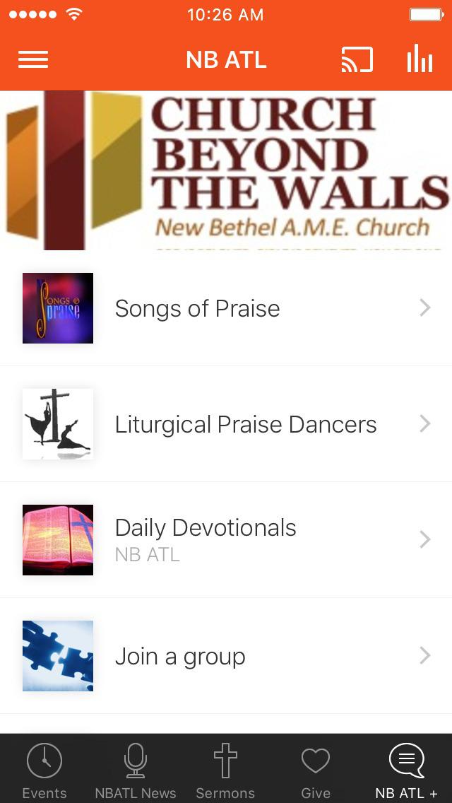 NB ATL Church Beyond The Walls screenshot 3