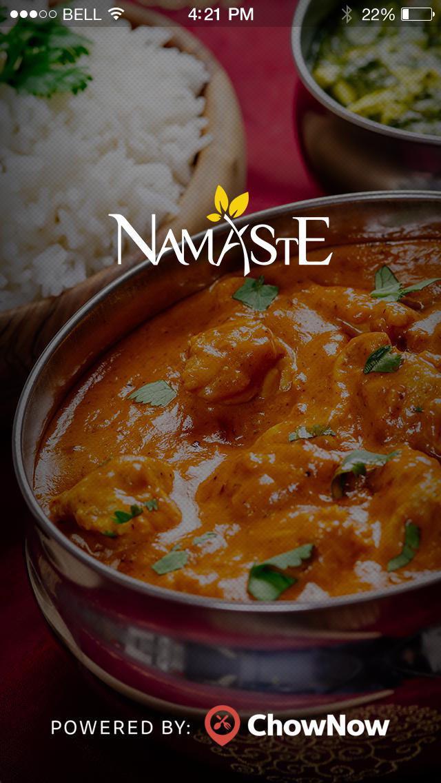 Namaste Restaurant screenshot 1
