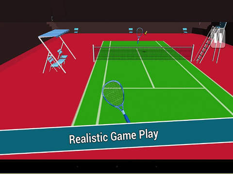 Real 3D Tennis Pro screenshot 8