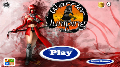 A Warrior Jumping - Awesome Fly And Run Game screenshot 1