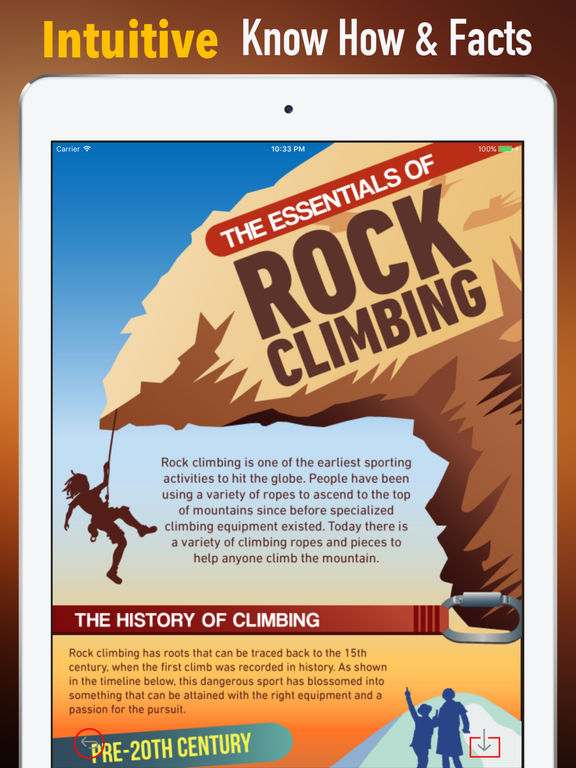 Rock Climbing-Beginners Guide and Tutorial screenshot 5