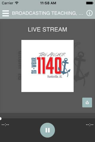 WBXR 1140 AM RADIO - náhled