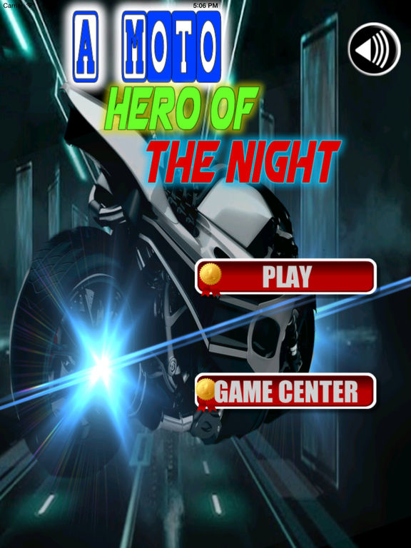 A Moto Hero Of The Night PRO - Extreme Motor Game screenshot 6