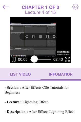 Video Training for After Effects CS6 - náhled
