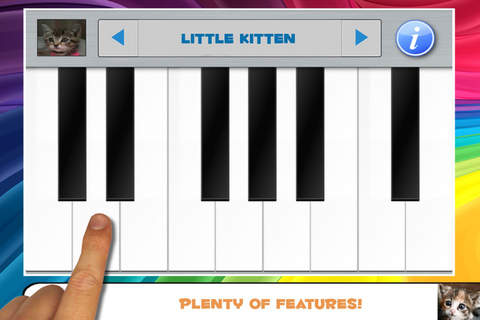 Cat Piano Toy and Kitten Keyboard Tunes - náhled