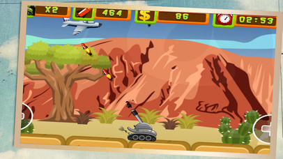 Desert Tank Shooting screenshot 2