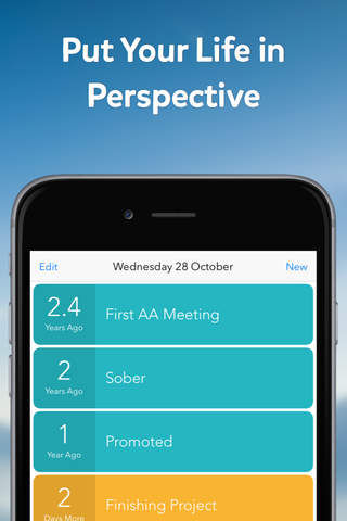 Perspective - Event Countdowns and Habit Tracking - náhled