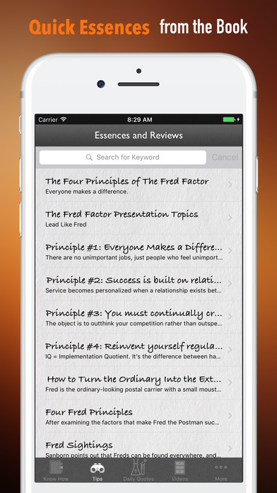 Quick Wisdom from The Fred Factor-Extraordinary screenshot 3
