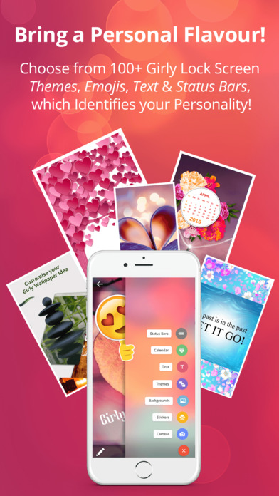 Cute Girly Theme WallpaperS- For Pink Loving Girls screenshot 1