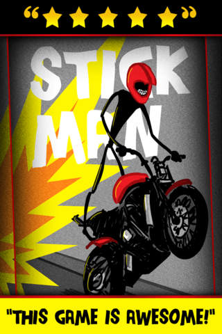 Stickman Street Bike Motorcycle Highway Race - FRE - náhled