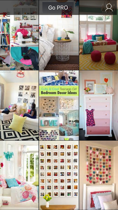 Teen Room Decor Ideas, Teenager Room Designs Plans screenshot 1