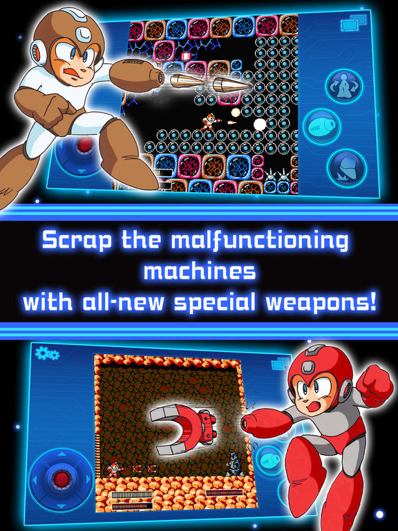 MEGA MAN 3 MOBILE screenshot 7
