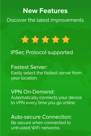 ibVPN - VPN for Wifi Security and IP Protection - náhled