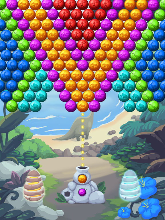 Jurassic Bubble Shooter screenshot 8