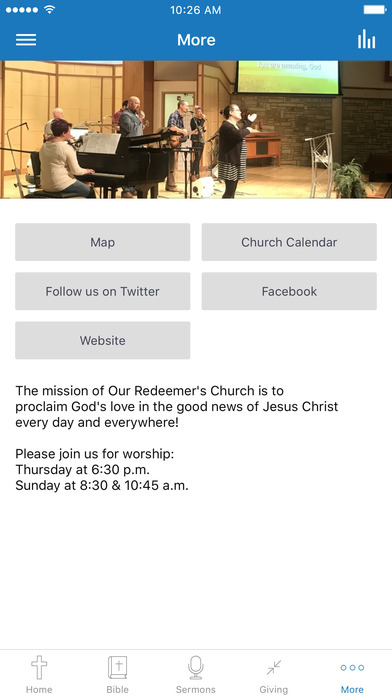 Our Redeemer's Church screenshot 3