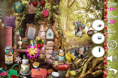 Ace De In WinterHaven Hidden Objects - náhled