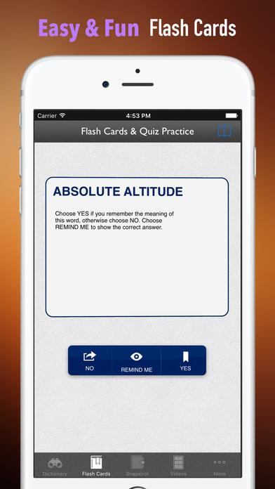 Aviation and Flight Training Dictionary screenshot 5