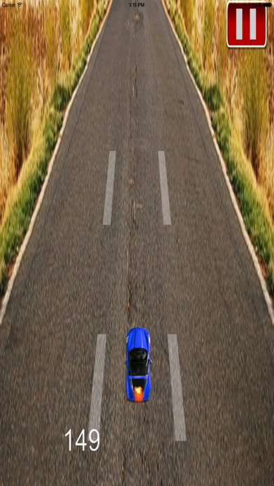 A Super Fast Car Race - Fury On The Road screenshot 2