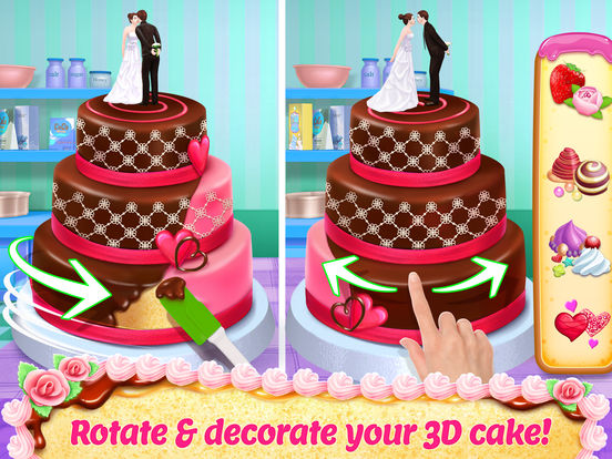 Real Cake Maker 3D Bakery screenshot 6